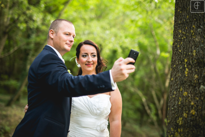selfie esküvői kreatív