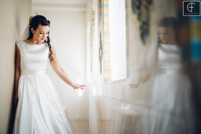 menyasszony, portré