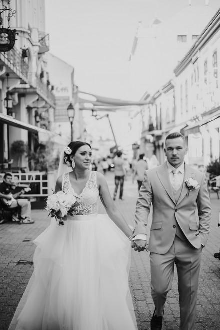 esküvő Pécsen