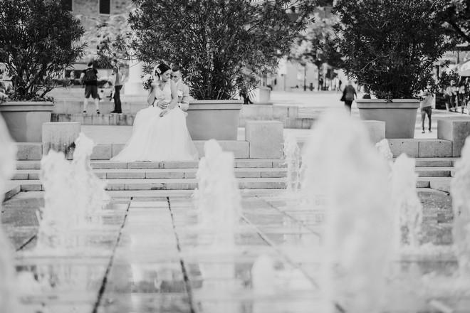 szökőkút a Széchenyi téren